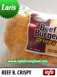 daging burger crispy